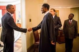 Buhari Meets Obama At The White House 3