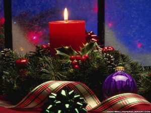 christmas candles 77