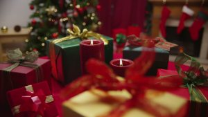 Christmas candles 82