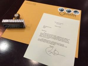 Barack cuba letter