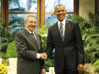 Castro Obama 14