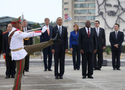 Cuba wreath laying ceremony 8