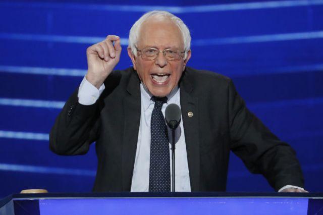 Bernie Sanders DNC Convention 2016