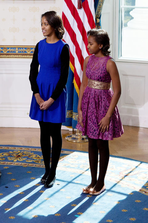 First Daughters Portraits Thru the Years-27