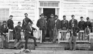 """The deadliest massacre of Native Americans in Montana's history was a mistake. Colonel Eugene Baker had been sent by the government to """"pacify"""" a rebellious band of the Blackfeet tribe.Eventually, Baker's men tracked the tribe to a village along the Marias River. On January 23, 1870, the men surrounded the village and prepared to attack.But a scout recognized some of the painted designs on the lodges and reported to Baker that this was the wrong band. Baker replied, """"That makes no difference, one band or another of them; they are all [Blackfeet] and we will attack them.""""Most of the Native American men were out hunting, so the majority of the 173 massacred were women, children, and the elderly. When Baker discovered that the survivors had smallpox, he abandoned them in the wilderness without food or shelter, increasing the death toll by 140. Photo credit: Bozeman Daily Chronicle"""