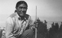 By 1865, the Yana tribe's population had dwindled to fewer than 100 in northern California around Lassen Peak. After the murders of several nearby white people during a raid, hunters tracked the culprits to Three Knolls, where the Native Americans slept.Determined to rid the area of any remaining natives, the settlers attacked, killing dozens of Native Americans. Only a handful escaped.A Yana tribesman named Ishi was present at the massacre as a small child, and he and his family eventually hid in some nearby mountains for almost 40 years. 1n 1911, he emerged as a frail, elderly man—the last of his people—to tell his fantastical story. Photo credit: Saxton T. Pope