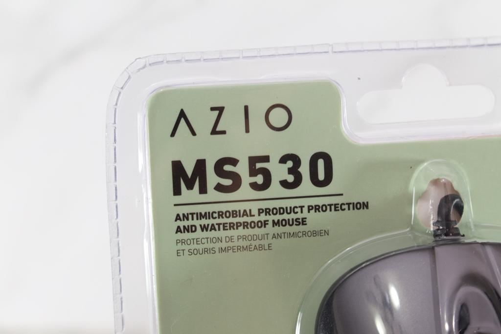 AZIO KB530 & MS530抗菌可沖洗有線鍵盤滑鼠-髒了水洗就對了!4200
