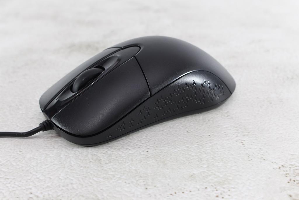 AZIO KB530 & MS530抗菌可沖洗有線鍵盤滑鼠-髒了水洗就對了!5083
