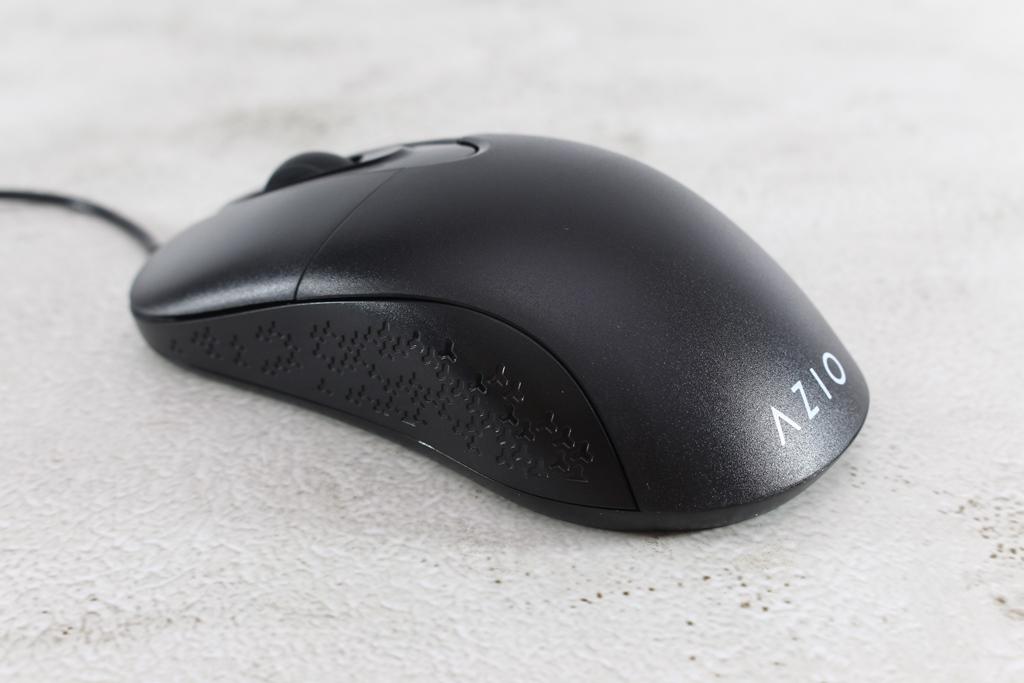 AZIO KB530 & MS530抗菌可沖洗有線鍵盤滑鼠-髒了水洗就對了!6599