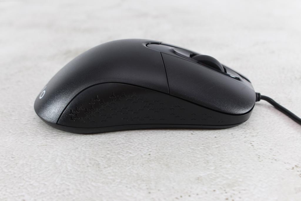 AZIO KB530 & MS530抗菌可沖洗有線鍵盤滑鼠-髒了水洗就對了!9083