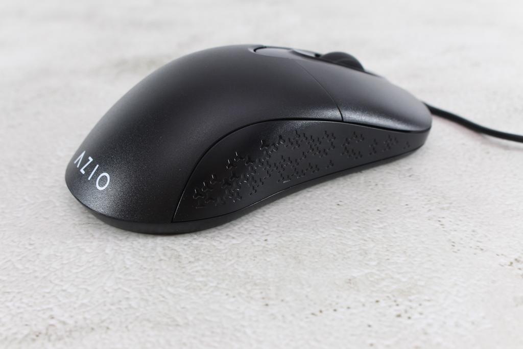 AZIO KB530 & MS530抗菌可沖洗有線鍵盤滑鼠-髒了水洗就對了!6822