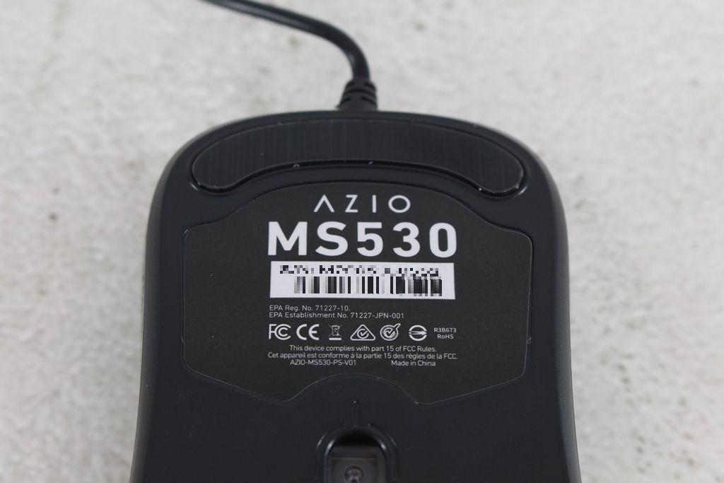 AZIO KB530 & MS530抗菌可沖洗有線鍵盤滑鼠-髒了水洗就對了!460