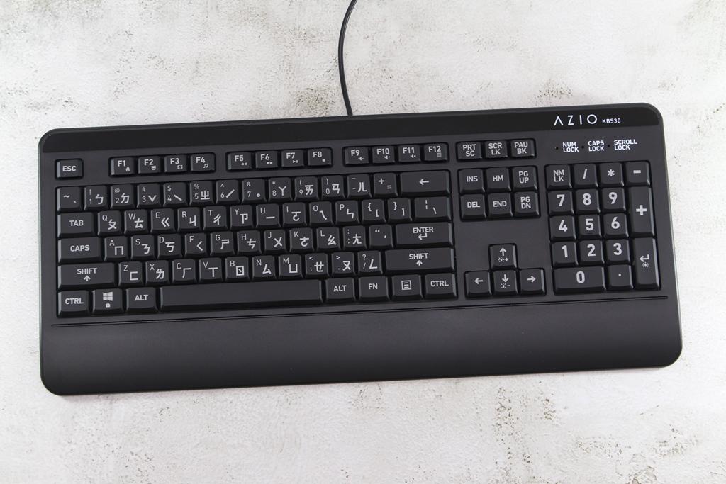AZIO KB530 & MS530抗菌可沖洗有線鍵盤滑鼠-髒了水洗就對了!3156