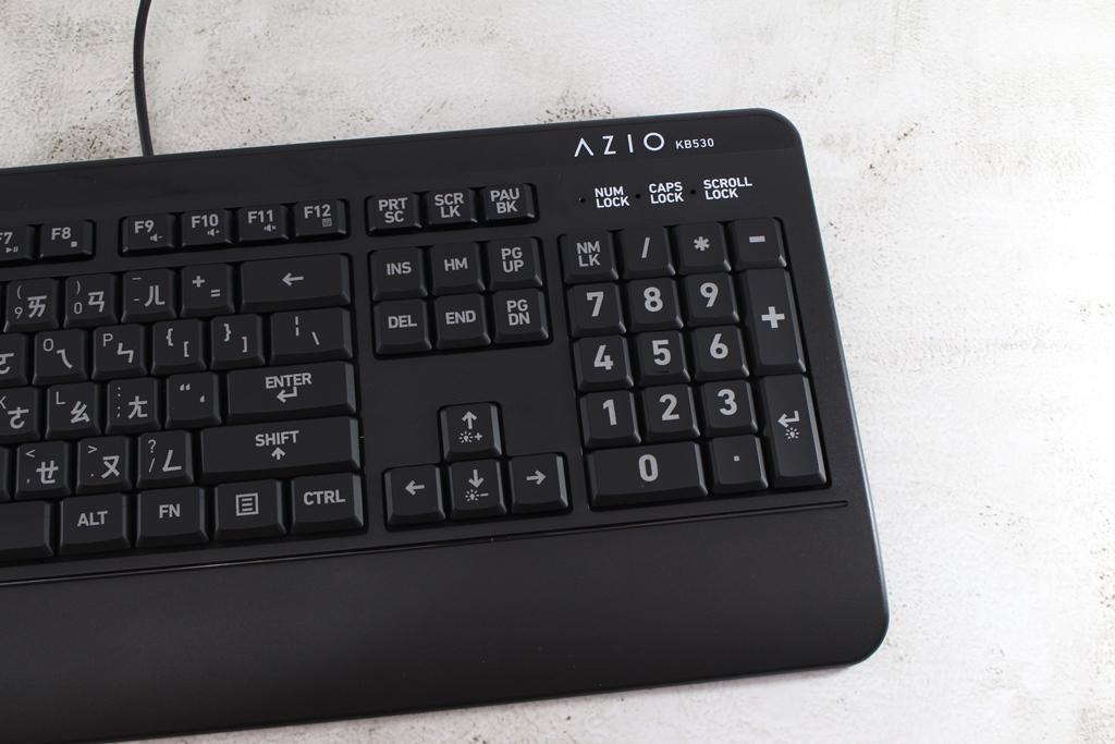AZIO KB530 & MS530抗菌可沖洗有線鍵盤滑鼠-髒了水洗就對了!5555