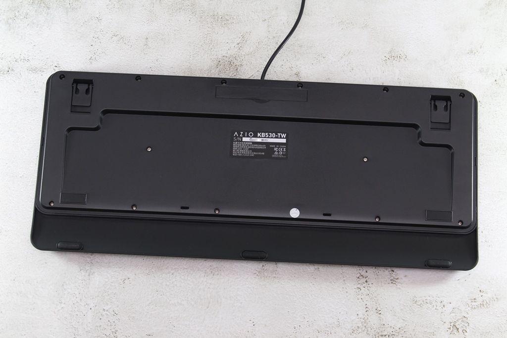 AZIO KB530 & MS530抗菌可沖洗有線鍵盤滑鼠-髒了水洗就對了!6608