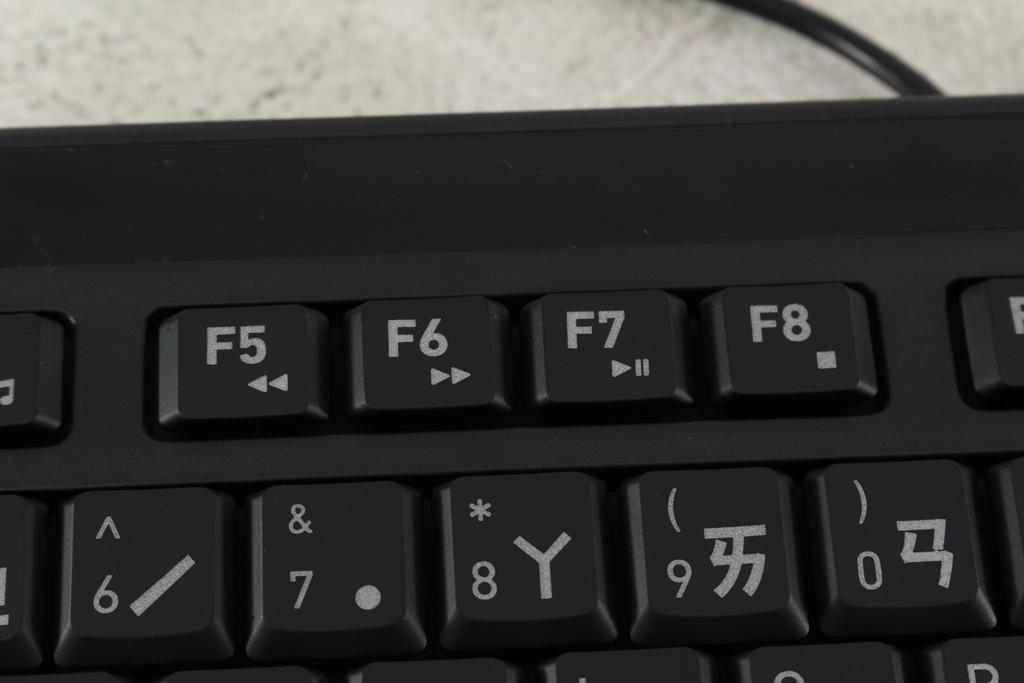 AZIO KB530 & MS530抗菌可沖洗有線鍵盤滑鼠-髒了水洗就對了!8137