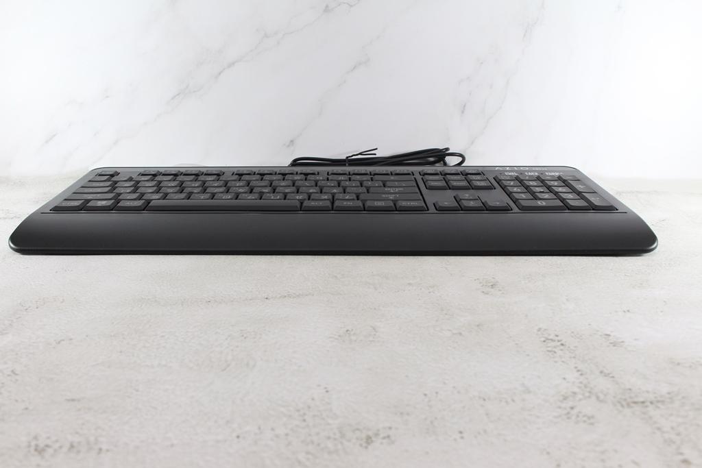 AZIO KB530 & MS530抗菌可沖洗有線鍵盤滑鼠-髒了水洗就對了!3803