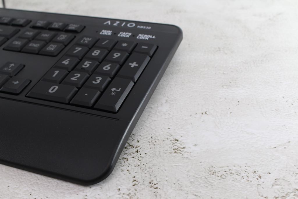 AZIO KB530 & MS530抗菌可沖洗有線鍵盤滑鼠-髒了水洗就對了!2853