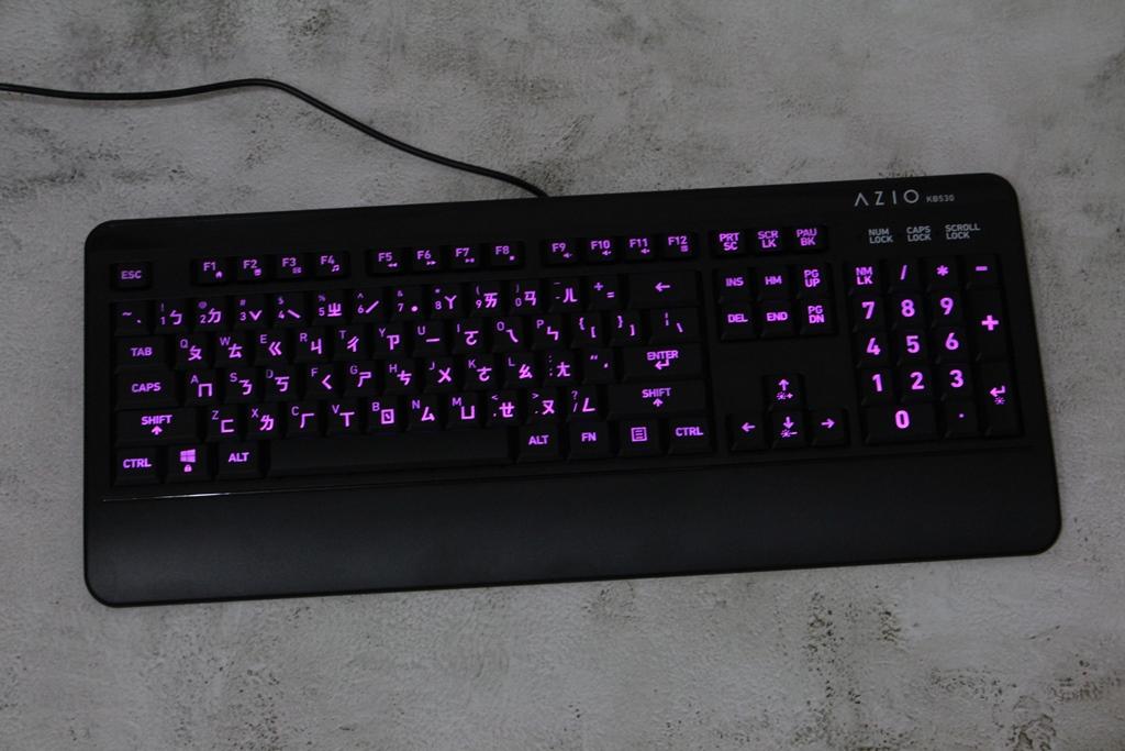 AZIO KB530 & MS530抗菌可沖洗有線鍵盤滑鼠-髒了水洗就對了!3640