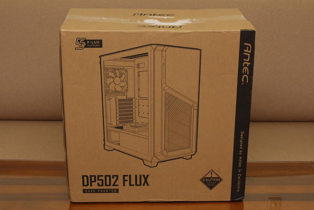 安鈦克Antec DP502 FLUX鋼化玻璃透側機殼-面板造型高顏值,F-L...1402