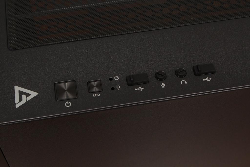 安鈦克Antec DP502 FLUX鋼化玻璃透側機殼-面板造型高顏值,F-L...5155