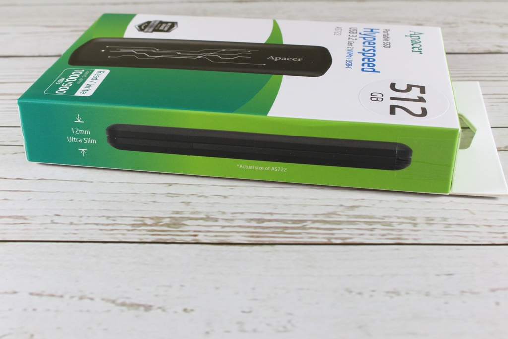 宇瞻Apacer AS722 USB3.2 Gen2 NVMe Type-C外接式固態硬碟-大容量與...8031