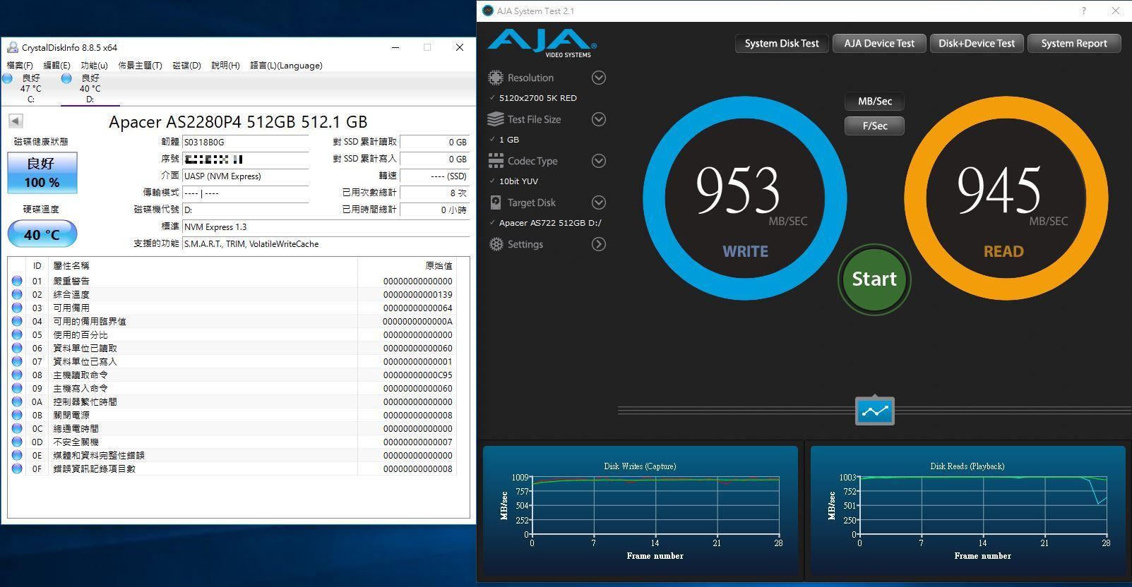 宇瞻Apacer AS722 USB3.2 Gen2 NVMe Type-C外接式固態硬碟-大容量與...1239