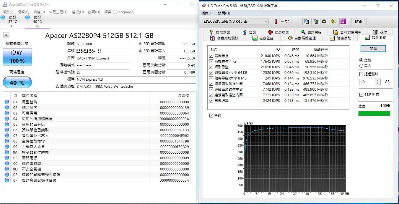 宇瞻Apacer AS722 USB3.2 Gen2 NVMe Type-C外接式固態硬碟-大容量與...4913