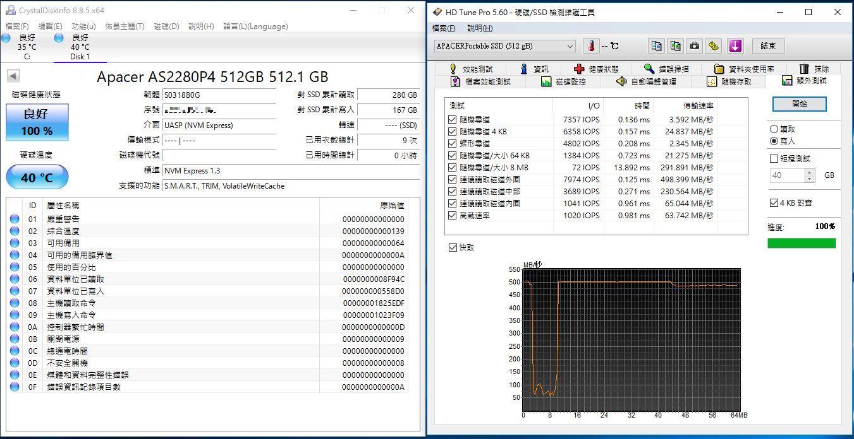 宇瞻Apacer AS722 USB3.2 Gen2 NVMe Type-C外接式固態硬碟-大容量與...3853