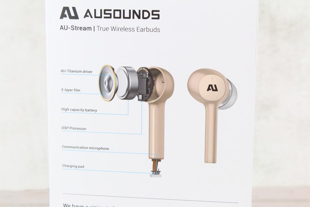 Ausounds AU-Stream真無線藍牙耳機-搭載大尺寸13mm鍍鈦單體與...6002