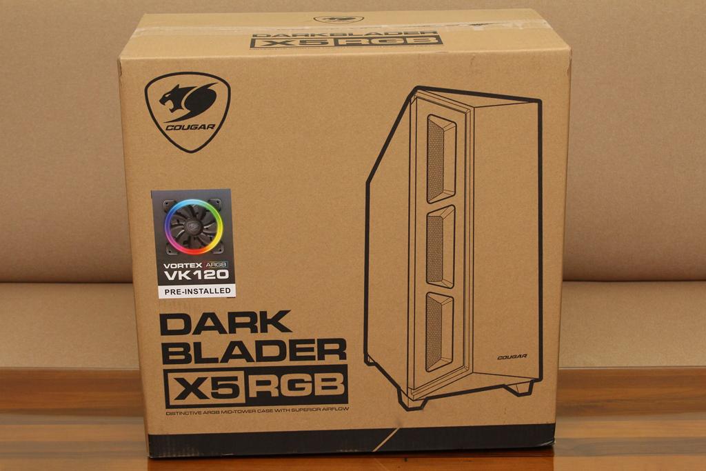 美洲獅COUGAR DarkBlader X5 RGB中塔機殼-低調內斂的視覺燈效,...2146