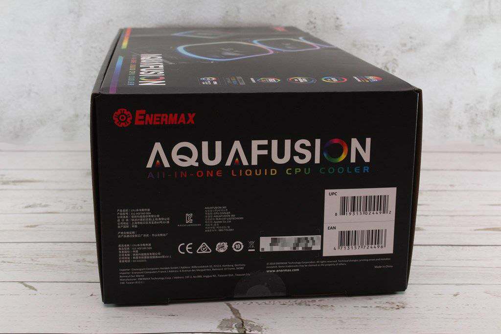 安耐美ENERMAX AQUAFUSION 360幻彩晶蝶一體式水冷散熱器-壓制頂級處理器的最佳夥伴
