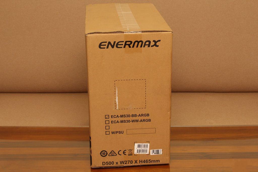 安耐美ENERMAX MarbleShell MS30冰曜石ATX ARGB中塔機殼-獨特面板...4831