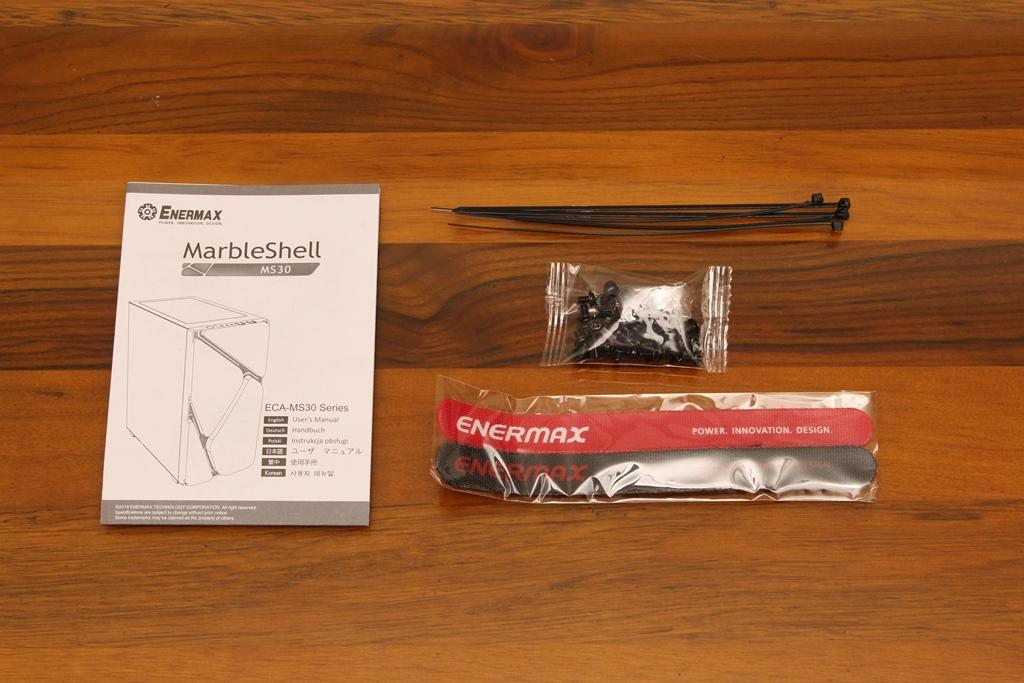 安耐美ENERMAX MarbleShell MS30冰曜石ATX ARGB中塔機殼-獨特面板...2829