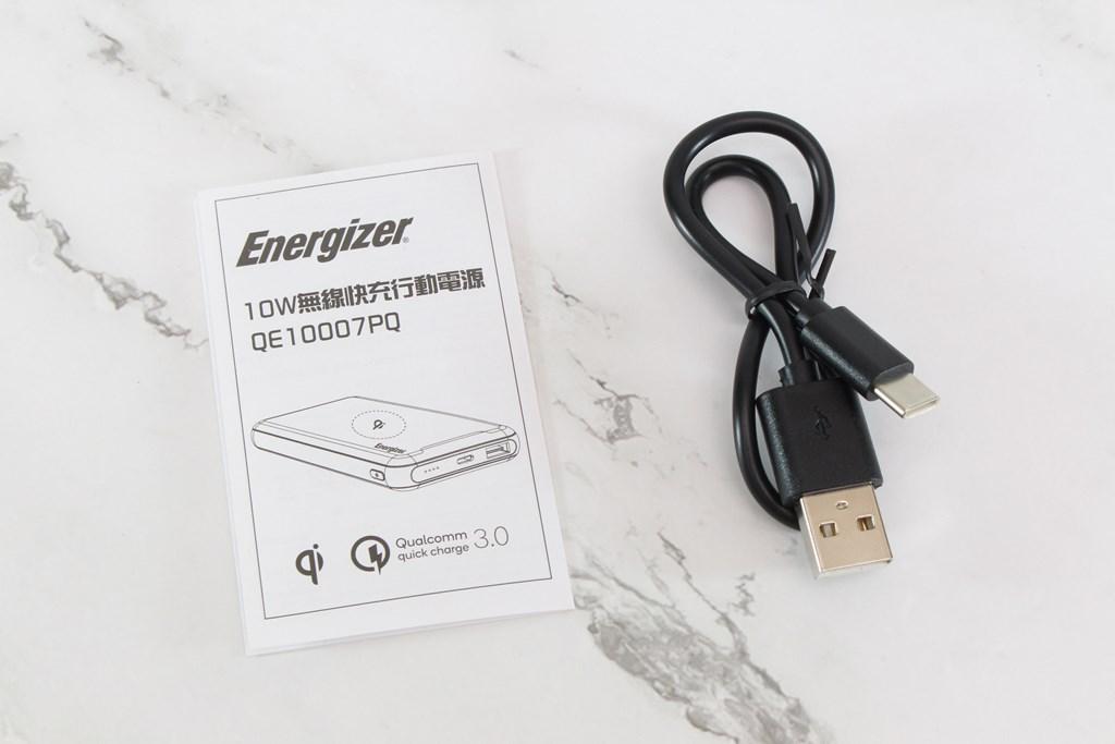 勁量 Energizer QE10007PQ 10W無線快充行動電源-支援PD與QC 3.0快充技術,更能無線充電,無所不充! - 12
