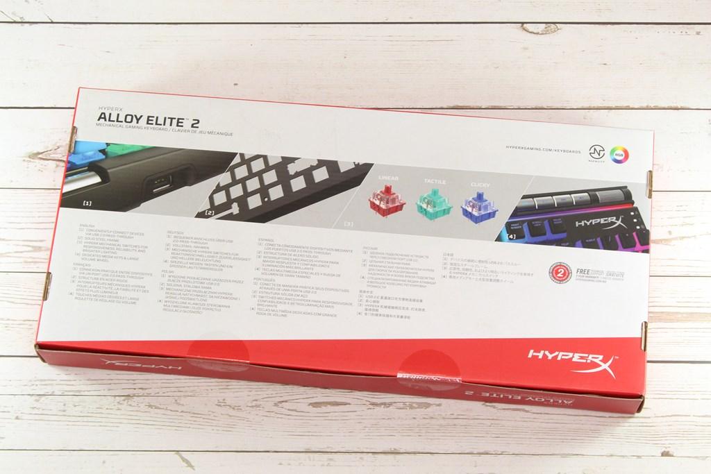 HyperX Alloy Elite 2機械式電競鍵盤-雙色布丁透光鍵帽,視覺效果再升級 - 9
