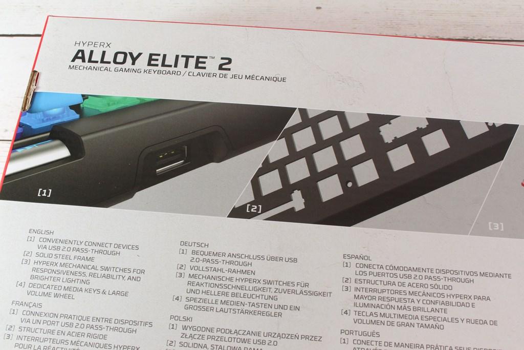HyperX Alloy Elite 2機械式電競鍵盤-雙色布丁透光鍵帽,視覺效果再升級 - 10
