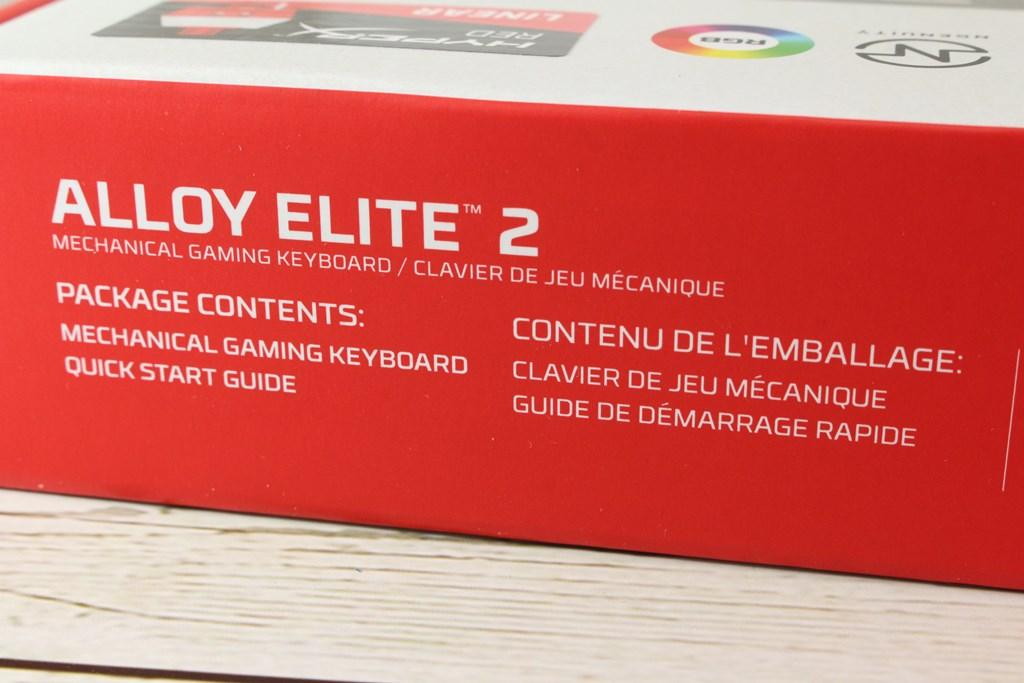 HyperX Alloy Elite 2機械式電競鍵盤-雙色布丁透光鍵帽,視覺效果再升級 - 15
