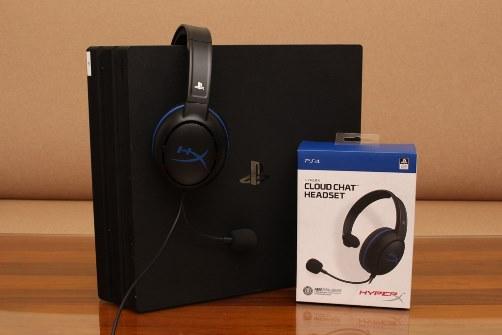 HyperX Cloud Chat聊天耳機-單耳罩設計,PS4對戰聊天好夥伴 - 1