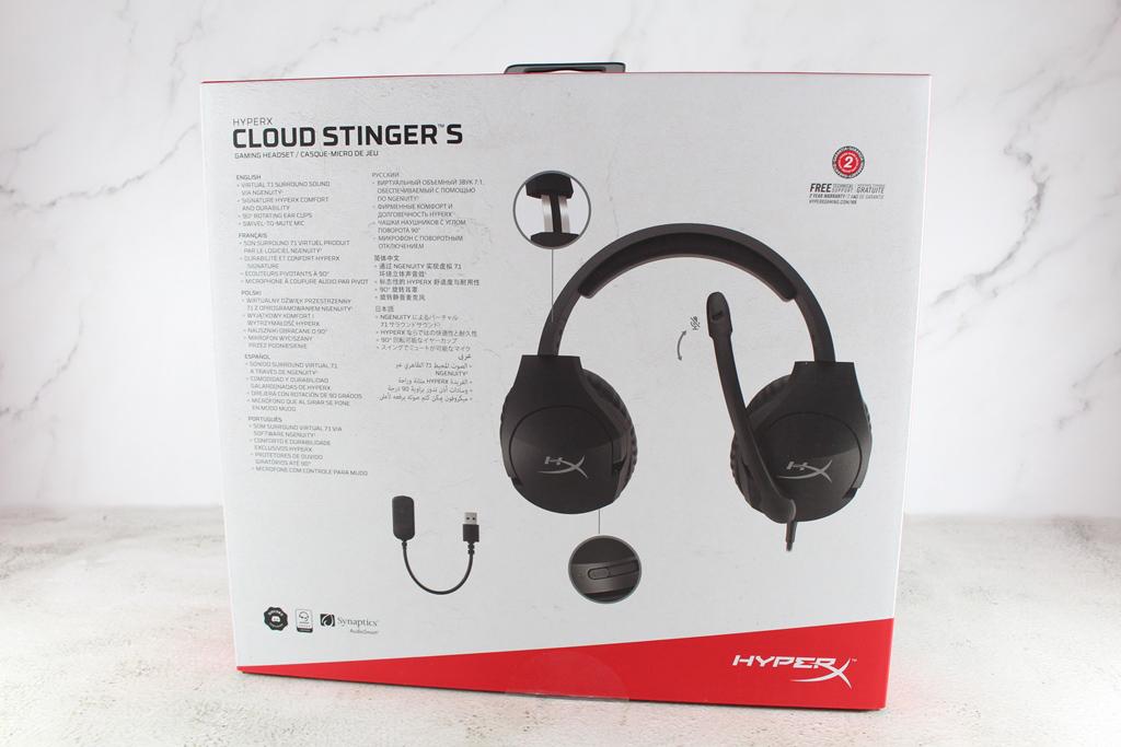 HyperX Cloud Stinger S電競耳機-升級虛擬7.1聲道,沉浸式體驗...8682