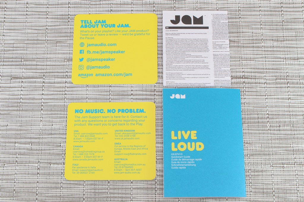 JAM Live Loud真無線藍牙耳機-價格親民,高CP值最佳首選