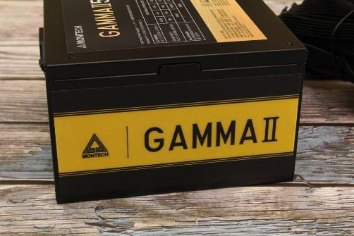 君主MONTECH GAMMA II金牌電源供應器-升級全日系電容,扁黑線設計安裝整線更便利