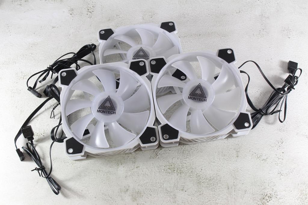 君主MONTECH Z3 PRO ARGB PWM 3 IN 1風扇-搭載ARGB控制器,升級機...1490