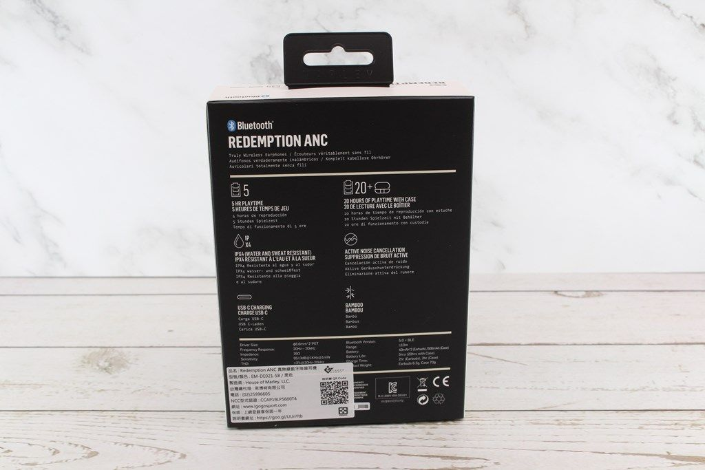 MARLEY Redemption ANC降噪真無線藍牙耳機-高通QCC 5124高階晶片,降噪加持純淨音質體驗再升級 - 9