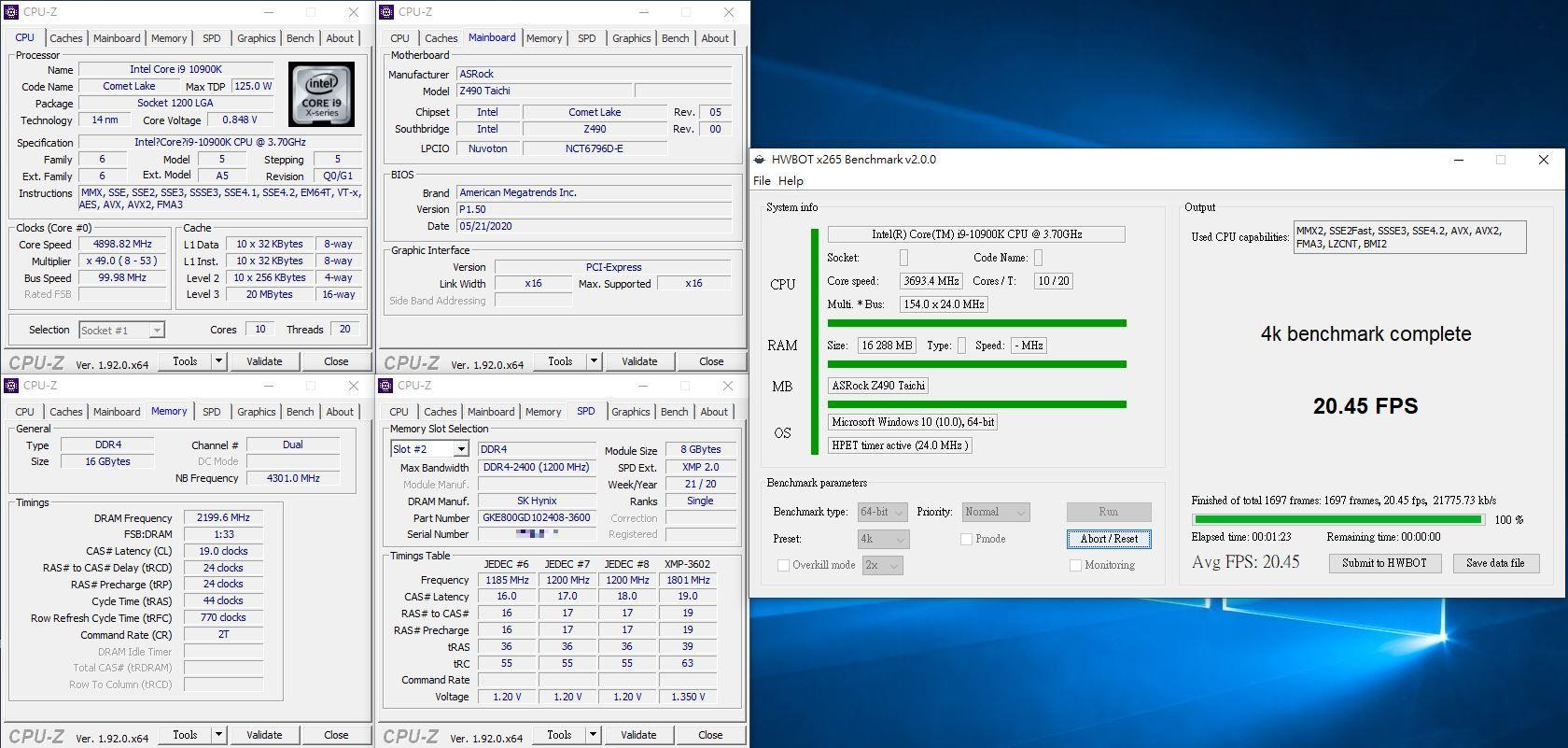 凌航Neo Forza Mars DDR4 RGB超頻記憶體-搭配Z490平台超頻表現優異,視覺燈效絢麗動人