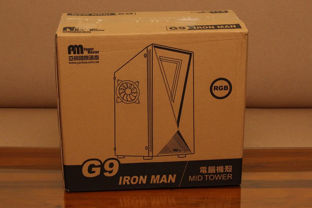 亞碩Power Master G9 IRON MAN鋼鐵人RGB機殼-搭載獨特鏡面發光燈效與鋼化玻璃側板,平價機殼再添一枚生力軍 - 4