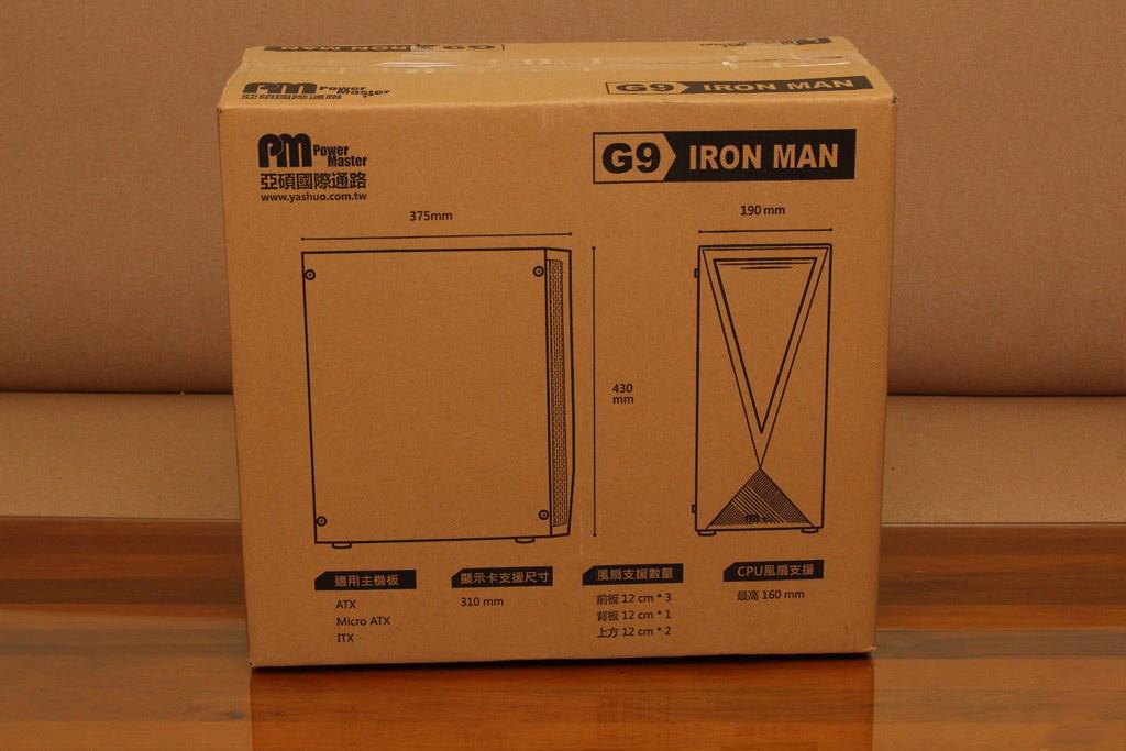 亞碩Power Master G9 IRON MAN鋼鐵人RGB機殼-搭載獨特鏡面發光燈效與鋼化玻璃側板,平價機殼再添一枚生力軍 - 5