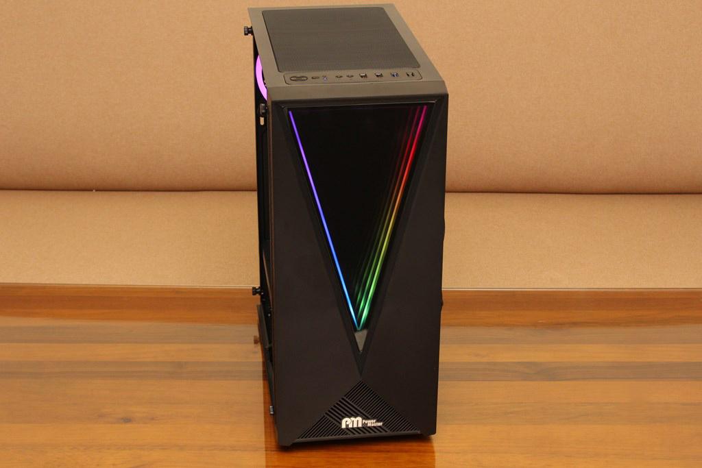 亞碩Power Master G9 IRON MAN鋼鐵人RGB機殼-搭載獨特鏡面發光燈效與鋼化玻璃側板,平價機殼再添一枚生力軍 - 48