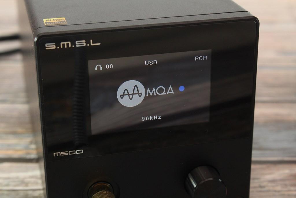 双木三林S.M.S.L M500 USB DAC耳機擴大機-支援MQA格式,征服你的挑剔耳朵 - 33