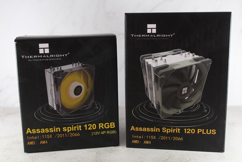 索摩樂Thermalright Assassin Spirit 120 PLUS/RGB塔型散熱器-無光害...2534